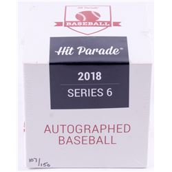 Hit Parade Hit Parade Autographed Baseball Mystery Box - 2018 Series 6