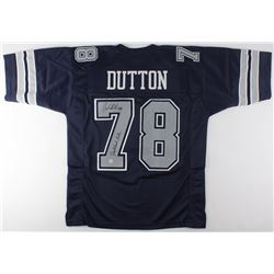 John Dutton Signed Cowboys Jersey Inscribed  Quarterback Killa  (Gridiron Legends COA)