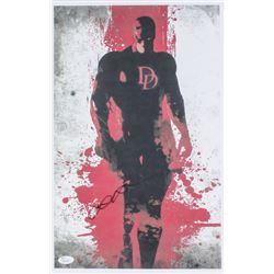 """Elden Henson Signed """"Daredevil"""" 12x17 Poster (JSA COA)"""