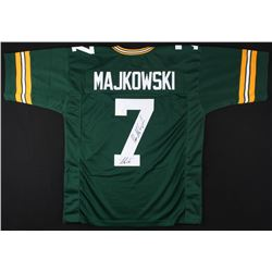 "Don Majkowski Signed Packers Jersey Inscribed ""Majik"" (Gridiron Legends COA)"