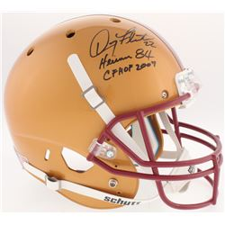 Doug Flutie Signed Boston College Eagles Full-Size Helmet Inscribed  Heisman 84    CHHOF 2007  (Radt