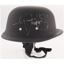 Ryan Hurst  Tommy Flanagan Signed  Sons of Anarchy  Biker Helmet Inscribed  Opie  (Radtke COA)