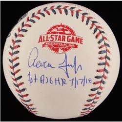"Aaron Judge Signed LE 2018 All-Star Game Logo Baseball Inscribed ""1st ASG HR""  ""7/17/18"" (MLB Hologr"