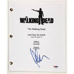 "Jeffrey Dean Morgan Signed ""The Walking Dead"" Full Episode Script (PSA COA)"