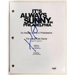 """Charlie Day Signed """"It's Always Sunny in Philadelphia"""" Full Pilot Episode Script (JSA COA)"""