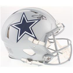 Emmitt Smith Signed Cowboys Full-Size Authentic On-Field Speed Helmet (Prova COA)