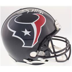 J.J. Watt Signed Texans Full-Size Authentic On-Field Helmet (JSA Hologram  Watt Hologram)