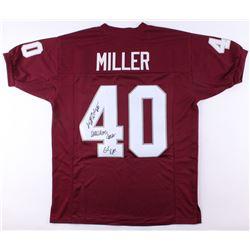 """Von Miller Signed Texas AM Jersey Inscribed """"Wrecking Crew""""  """"GIG EM"""" (JSA COA)"""