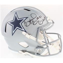 Ezekial Elliot Signed Cowboys Full-Size Speed Helmet (Radtke COA  Beckett COA)