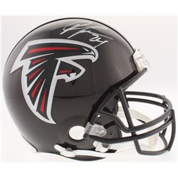 Devonta Freeman Signed Falcons Full-Size Authentic On-Field Helmet (Radtke COA)