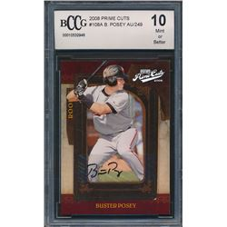 2008 Prime Cuts #108A Buster Posey Autograph (BCCG 10)