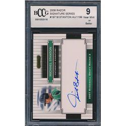 2008 Razor Signature Series #197 Michael Stanton Autograph (BCCG 9)