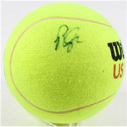 Pete Sampras Signed Wilson US Open Large Tennis Ball (JSA Hologram)