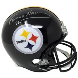 Franco Harris Signed Steelers Full-Size Helmet (JSA COA)