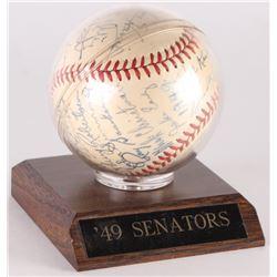 1949 Washington Senators OAL Baseball Signed by (25) with Clyde Vollmer, Sherry Robertson, Mickey Ha