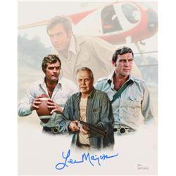 "Lee Majors Signed ""The Six Million Dollar Man"" 8x10 Photo (JSA COA)"