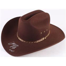 "Chandler Riggs Signed ""The Walking Dead"" Carl Grimes Sheriff Hat Inscribed ""Carl"" (Radke Hologram)"