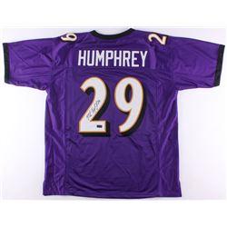 Marlon Humphrey Signed Ravens Jersey (Radtke COA)