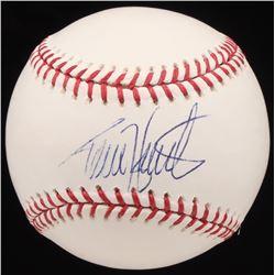 Torii Hunter Signed OML Baseball (JSA Hologram)
