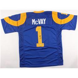 Sean McVay Signed Rams Jersey (Beckett COA)