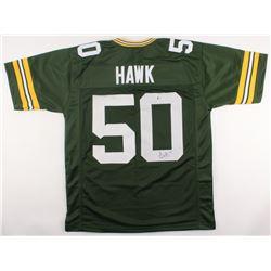 A. J. Hawk Signed Packers Jersey (Beckett Hologram)