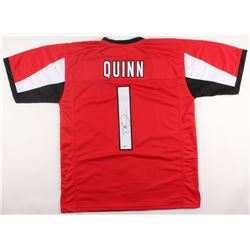 Dan Quinn Signed Falcons Jersey (Beckett COA)