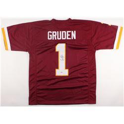 Jay Gruden Signed Redskins Jersey (Beckett COA)
