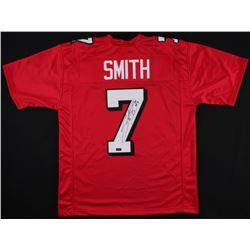Steve Smith Sr. Signed Utah Jersey (Smith Hologram)