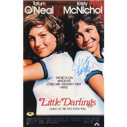 "Kristy McNichol Signed ""Little Darlings"" 11x17 Photo (MAB Hologram)"