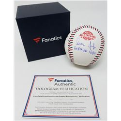"""Aaron Judge Signed LE 2018 All-Star Game Baseball Inscribed """"1st ASG HR 7/17/18"""" (Fanatics Hologram)"""