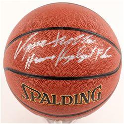 "Dominique Wilkins Signed Basketball Inscribed ""Human Highlight Film"" (Schwartz COA)"