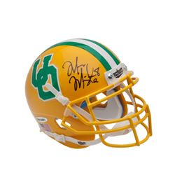 Marcus Mariota Signed Oregon Ducks Throwback Mini Helmet (UDA COA)