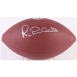 Michael Irvin Signed Football (Schwartz COA)