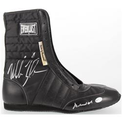 Muhammad Ali  Mike Tyson Signed Everlast Boxing Boots  (Online Authentics COA)