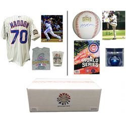2016 Chicago Cubs World Champs Mystery Autograph Gift Box – Series 4 (Limited to 108) Â
