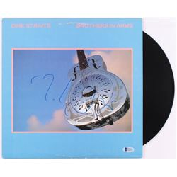 """Mark Knopfler Signed """"Brothers In Arms"""" Vinyl Record Album (Beckett COA)"""