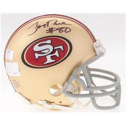Jerry Rice Signed 49ers Mini-Helmet (Rice Hologram  Radtke COA)