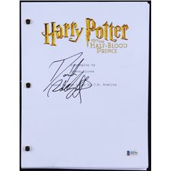 """Daniel Radcliffe Signed """"Harry Potter and the Half-Blood Prince"""" Full Movie Script (Beckett COA)"""