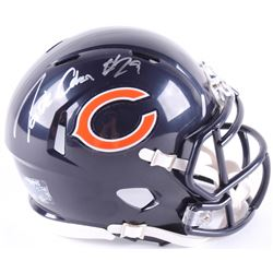 Tarik Cohen Signed Bears Speed Mini Helmet (Schwartz COA)