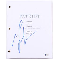 "Mel Gibson Signed ""The Patriot"" Full Movie Script (Beckett COA)"