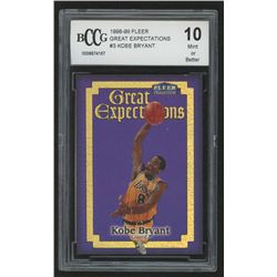 1998-99 Fleer Great Expectations #3 Kobe Bryant (BCCG 10)