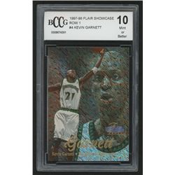 1997-98 Flair Showcase Row 1 #4 Kevin Garnett (BCCG 10)