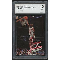 1997-98 Ultra #23 Michael Jordan (BCCG 10)