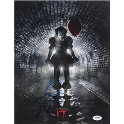 "Bill Skarsgard Signed ""It"" 11x14 Photo (PSA COA)"