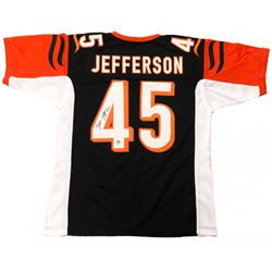 Malik Jefferson Signed Bengals Jersey (Jefferson Hologram)