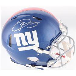 Odell Beckham Jr. Signed Giants Authentic On-Field Speed Full-Size Helmet (JSA COA)
