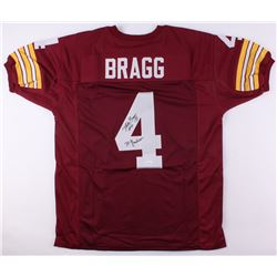 Mike Bragg Signed Redskins Jersey Inscribed  70 Greatest  (JSA COA)