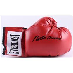 Roberto Duran Signed Everlast Boxing Glove (Radtke COA)