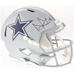 Dak Prescott Signed Cowboys Full-Size Speed Helmet (Prescott Hologram  Beckett COA)