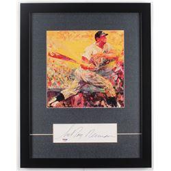 LeRoy Neiman Signed 16x20 Custom Framed Cut Display (PSA COA)